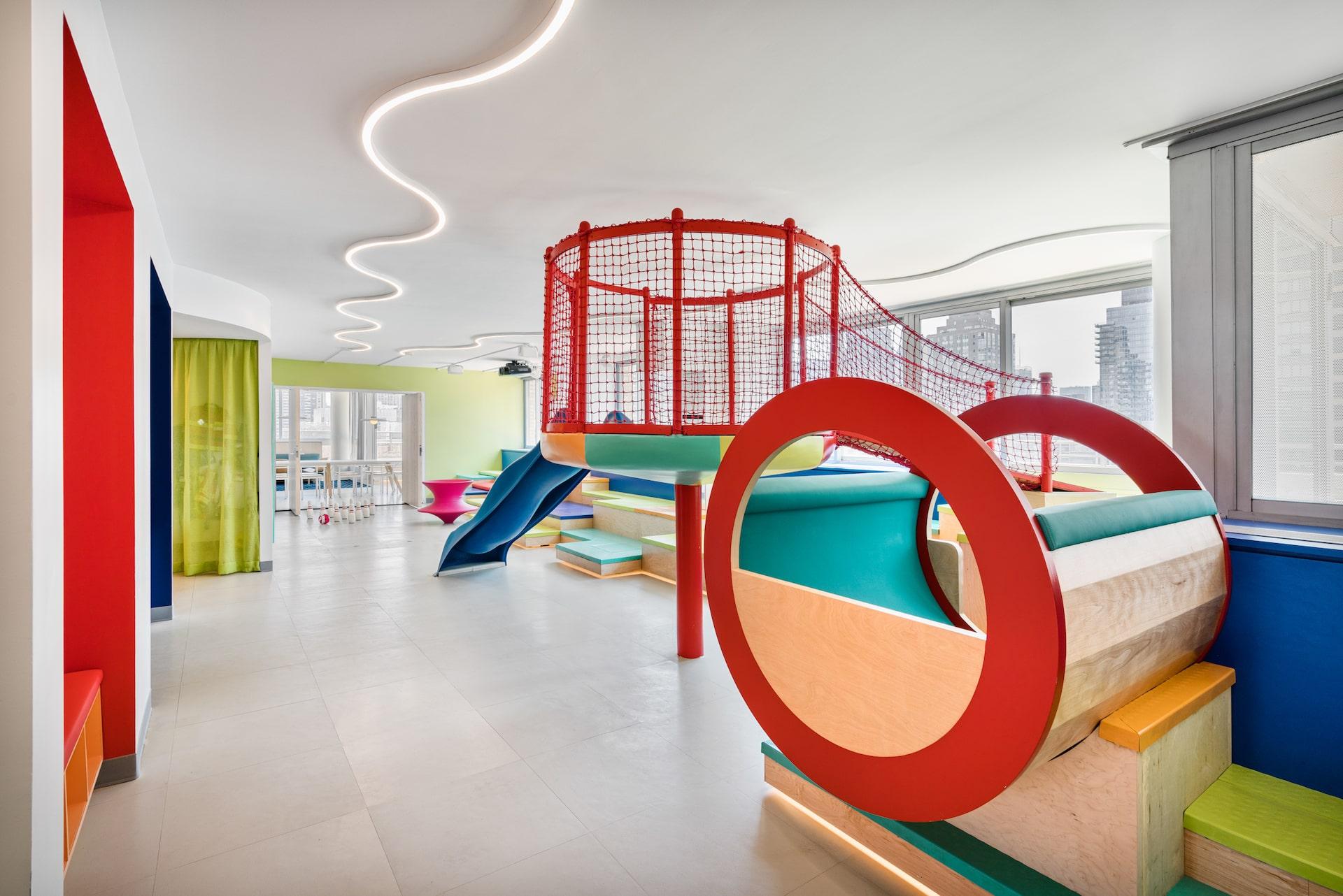 101 West End Avenue Amenities children's playroom