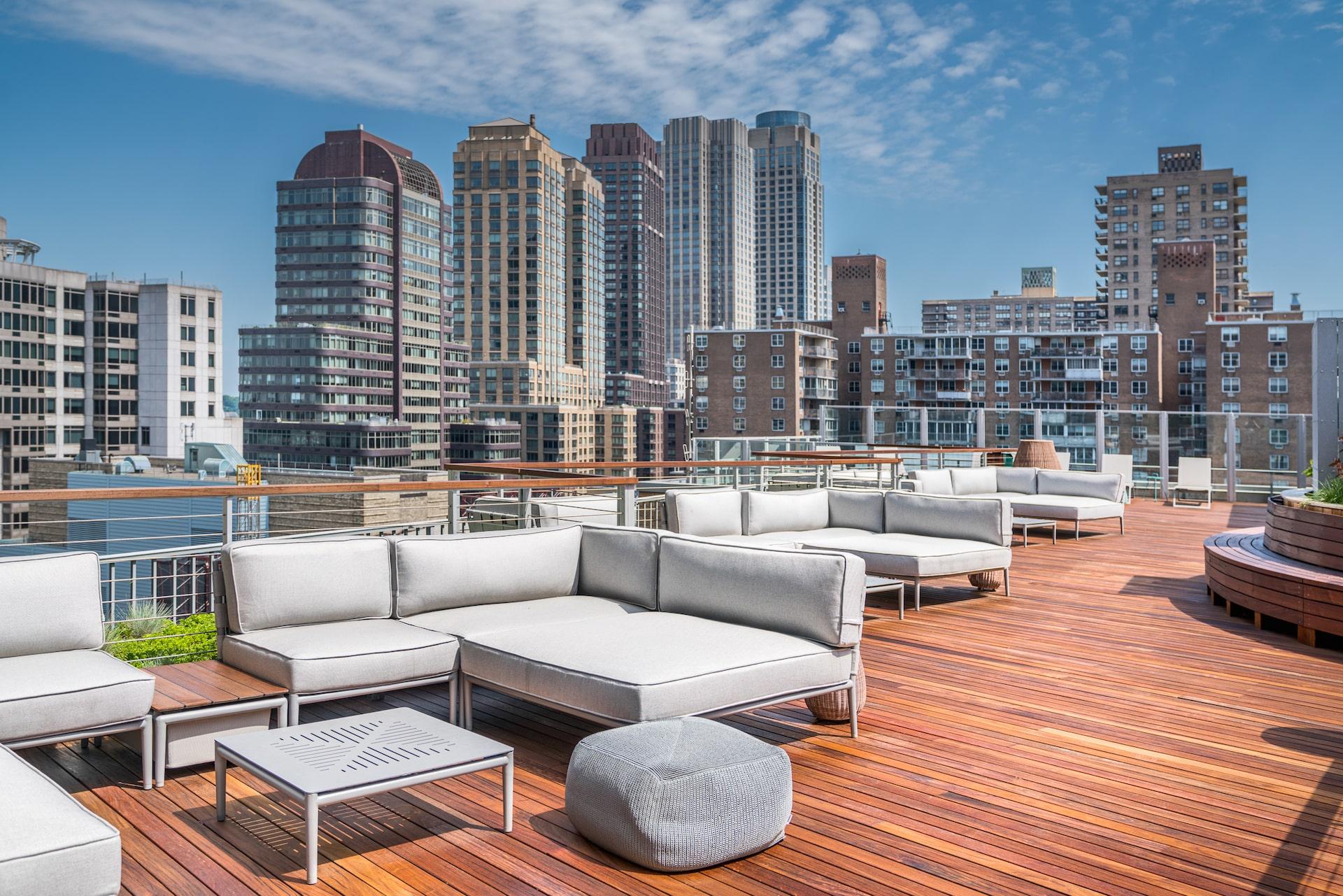 101 West End Avenue Amenities Rooftop